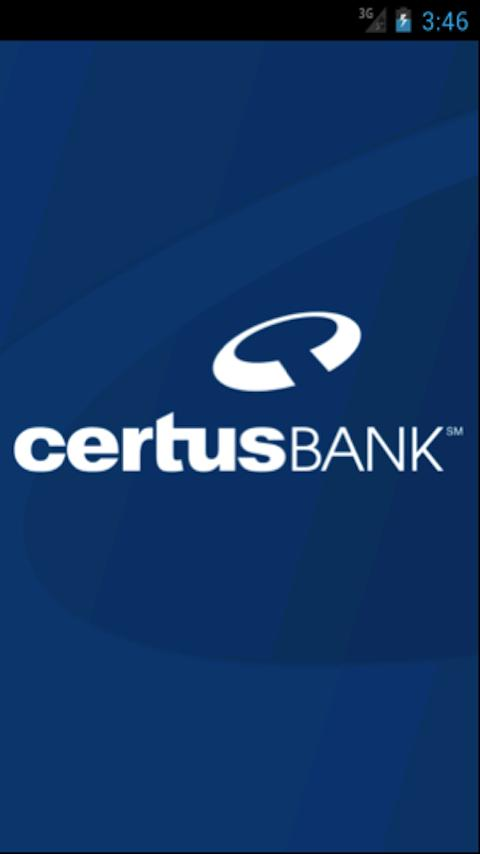 CertusBank Mobile - screenshot