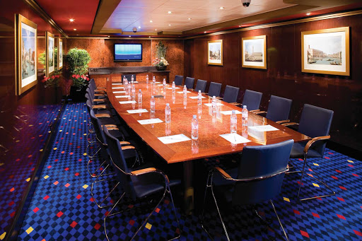 Norwegian-Gem-Rialto-Room -  Norwegian Gem has several comfortable meeting rooms, such as the Rialto Room, perfect for brainstorming, conferences and business needs.