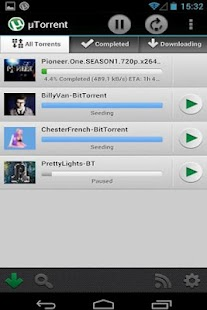 Torrent Downloader - screenshot thumbnail