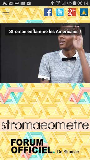 Stromaeometre mobile