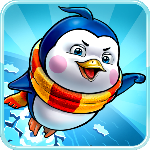 Penguin Jump Saga LOGO-APP點子