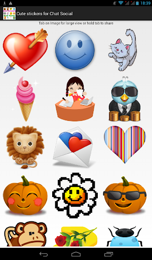 Cute Stickers for Chat Social