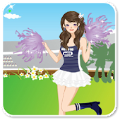Pom Pom Girl Dress Up