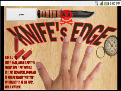 Knife's Edge - Knife Game