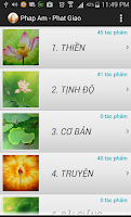 Screenshot of Phap Am Phat Giao