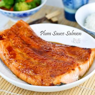 Plum Sauce Salmon