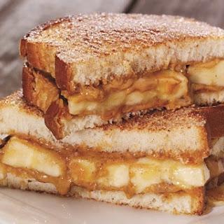 The Peanut Butter, Banana, and Honey Sandwich