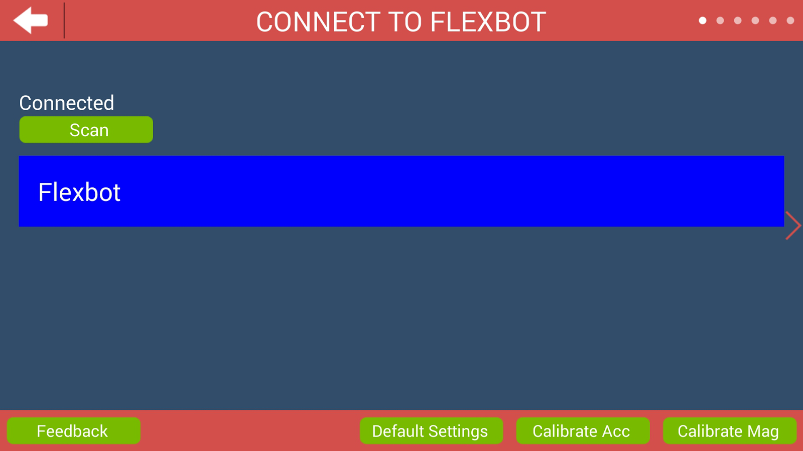 Flexbot- screenshot