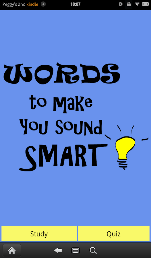 Words to Make You Sound Smart- screenshot