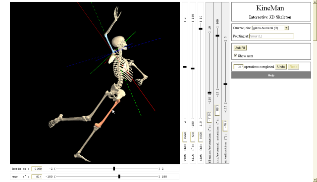 Interactive 3D Skeleton by Andy Barber | Experiments with Google