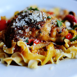 Chicken Cacciatore In White Wine Sauce Recipes.