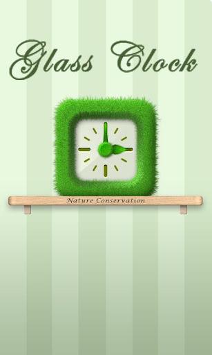 Grass - Clock Widget