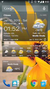 Weather & Clock Widget Ad Free v2.5.2