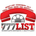 777LIST CONCERTS & NIGHTCLUBS