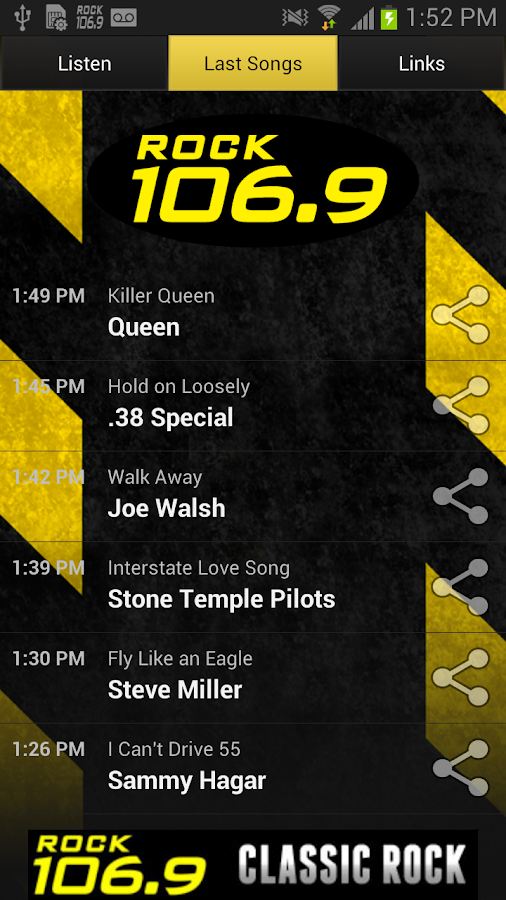 ROCK 106.9 – WCCC- screenshot