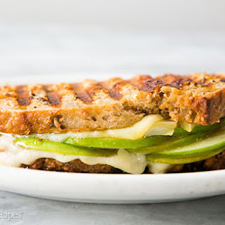 Gruyere, Apple, and Fig Jam Panini