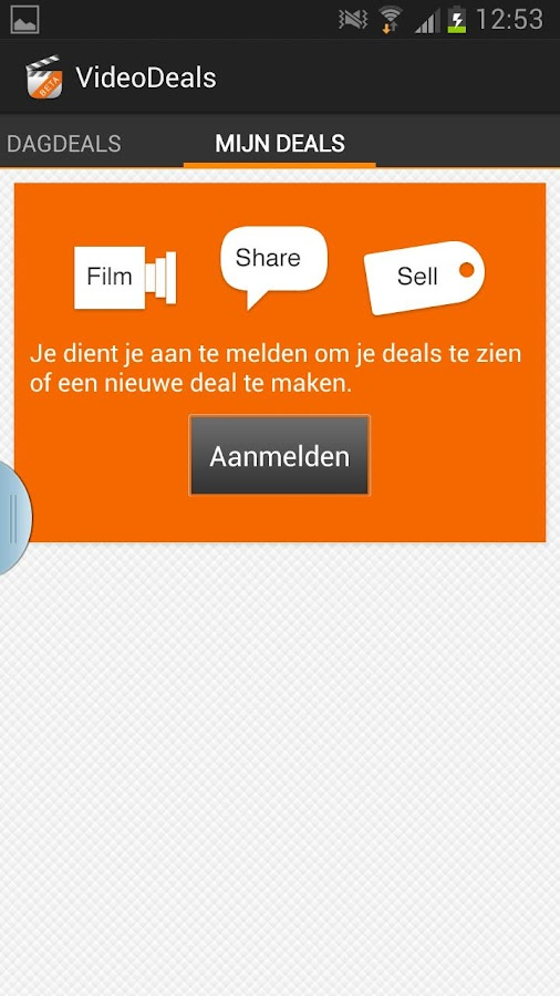 VideoDeals - screenshot