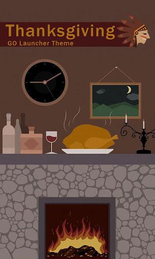 Thanksgiving dinner GO Theme