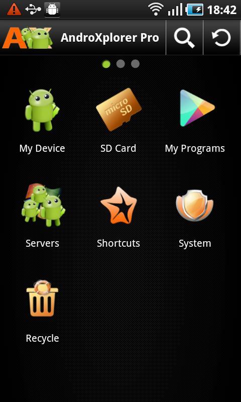 AndroXplorer Pro File Manager - screenshot