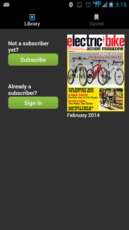 Electric Bike Action Magazine- screenshot