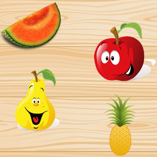 个人化の果物幼児パズル LOGO-記事Game