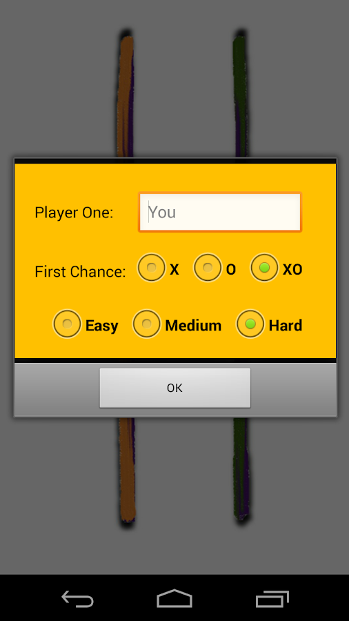 The TicTacToe Online- screenshot