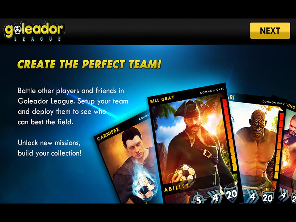 Goleador League- screenshot