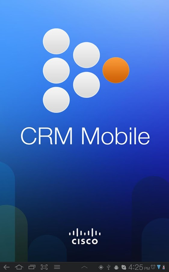 Cisco CRM Partner Mobile - screenshot