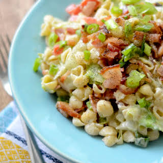Weight Watcher's BLT Pasta Salad.