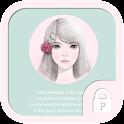 Lovelygirl(rose girl)protector icon