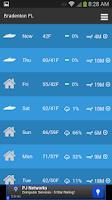 Screenshot of Boating Weather