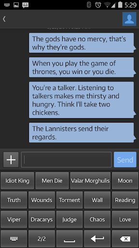 Quote Keyboard: Hodor