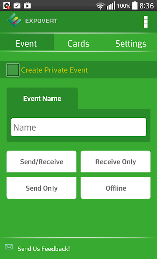 【免費商業App】Expovert - Business Card Share-APP點子