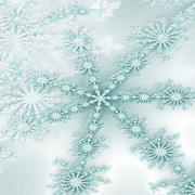 Winter Snowflake Theme Live