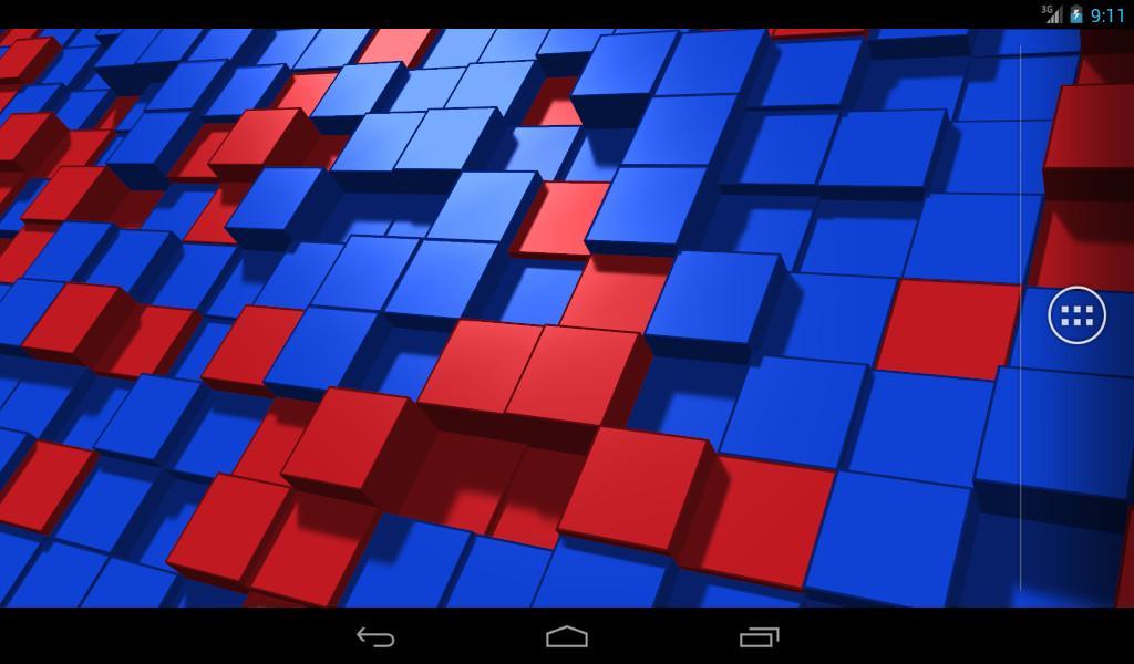 Digital Flux Live Wallpaper - screenshot