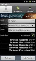 Screenshot of Your Transit