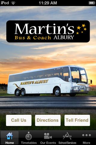 Martins Albury Bus and Coach