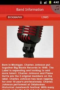 Charles Johnson Big Biznis Rec - screenshot thumbnail