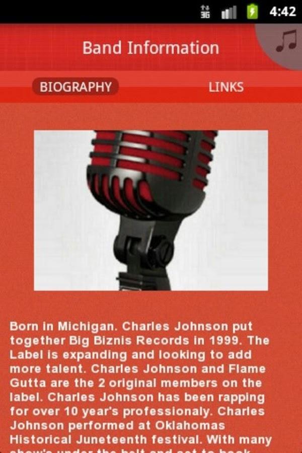Charles Johnson Big Biznis Rec - screenshot