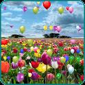 Blue Skies balloon LWP icon