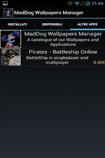 Maddog - LWP & APPS Manager - screenshot thumbnail