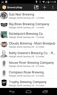BreweryMap #1 Beer Finding App - screenshot thumbnail