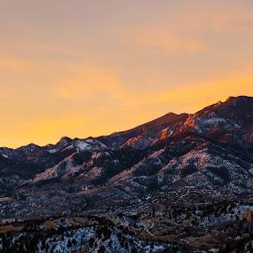Ute Pass Sunrise by Andrew Brinkman - Novices Only Landscapes ( mountains, nature, colorado, sunrise, landscapes )
