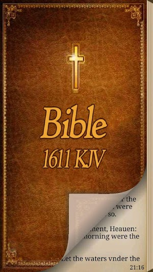 0 1611 King James Bible App screenshot