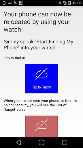 Find My Phone Watch Locator