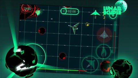 Lunar Eclipse - Asteroid game Screenshot 1