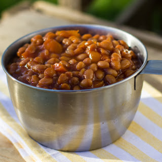 Crock Pot Boston Baked Beans.