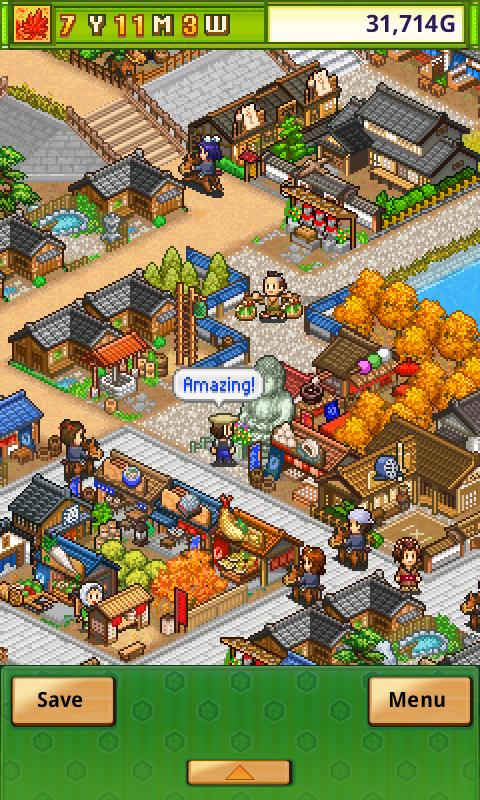 Oh!Edo Towns- screenshot