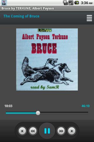 Audio Book Bruce TERHUNE