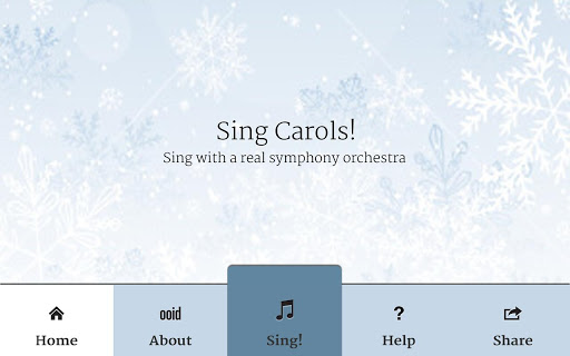 Sing Carols Christmas Songs